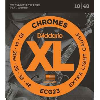 D´addario ECG23 - Chromes Extra Light para Guitarra Eléctrica